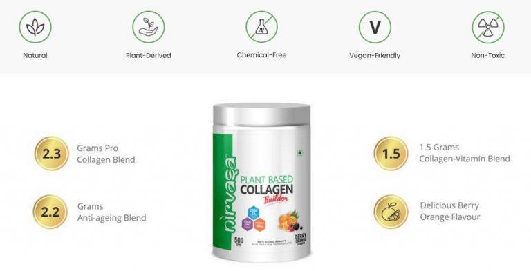 Nirvasa Plant Based Collagen Builder